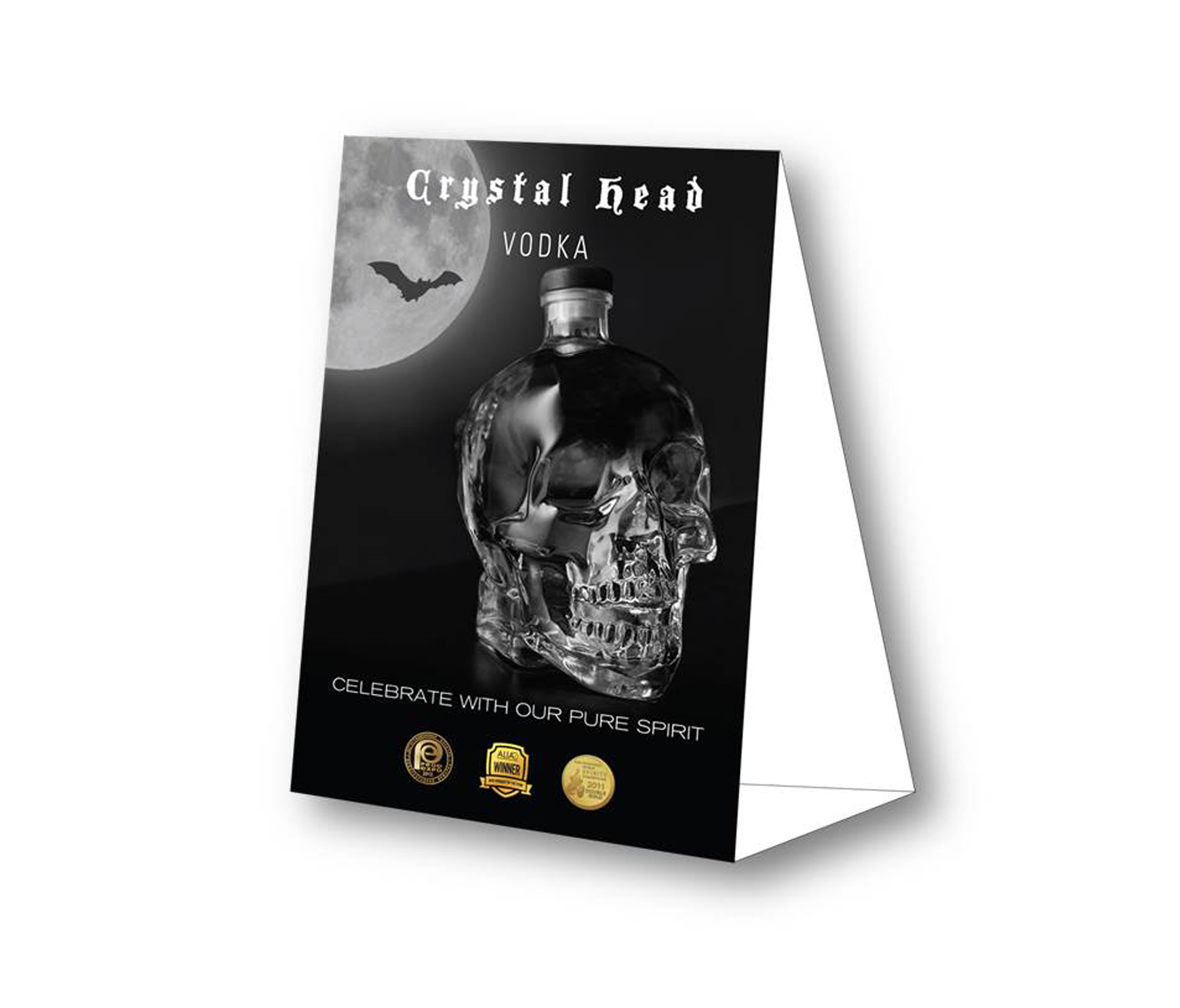 CrystalHead Vodka TableTent